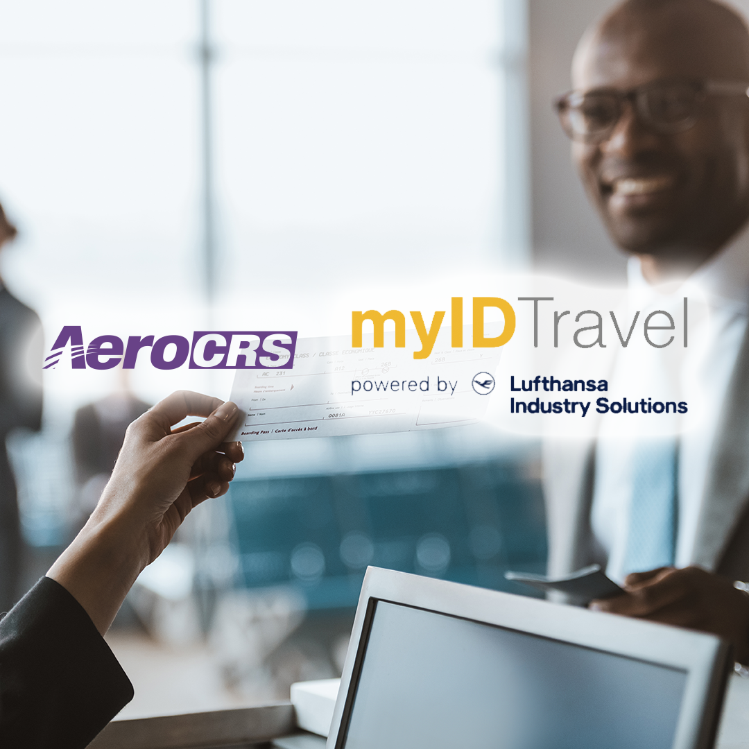 myID travel logo with AeroCRS