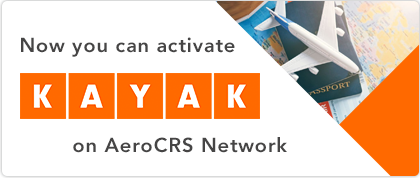 You can now activate Kayak on AeroCRS Network